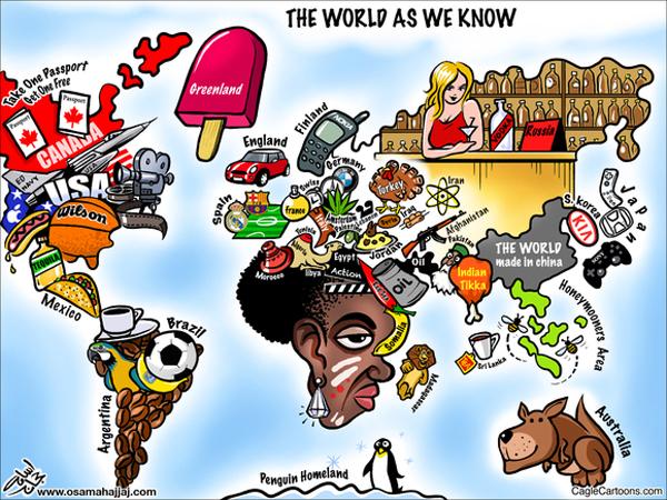 40 Yaratıcı Dünya Haritası