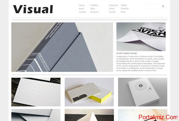 Visual WordPress Tema