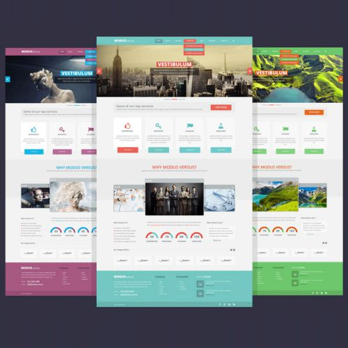20 PSD Websitesi Tasarımı
