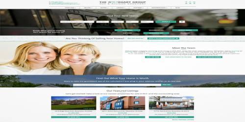 green theme website