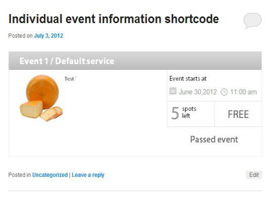 booking events system plugin wordpress