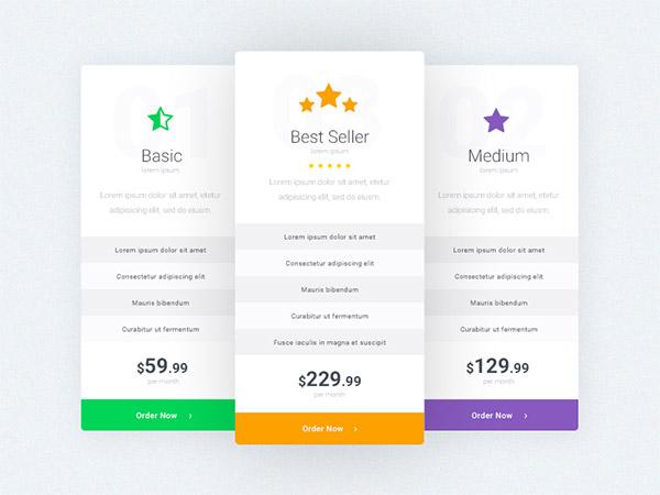 standard design pricing