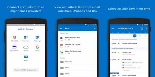 microsoft outlook e-posta uygulaması