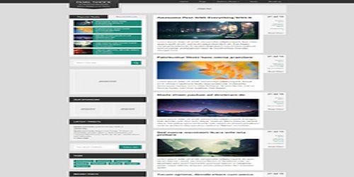 DualShock WordPress Tema ekran görüntüsü