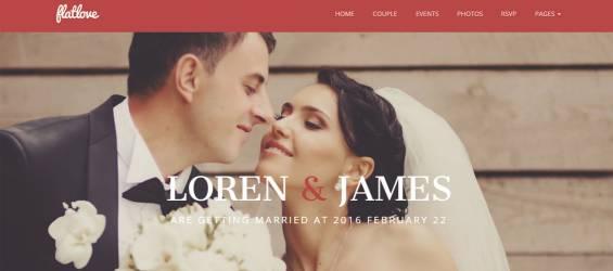 FlatLove---Flat-Onepage-Wedding-WordPress-Theme