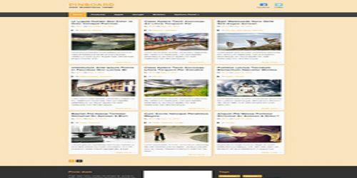 Pinboard WordPress Tema ekran görüntüsü