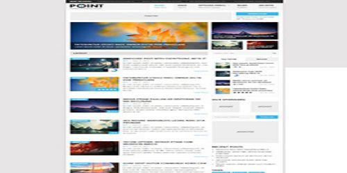 Point WordPress Tema ekran görüntüsü