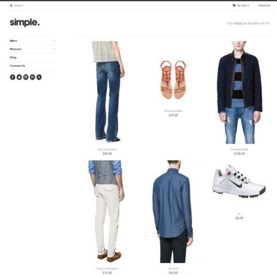 Simple-ecommerce