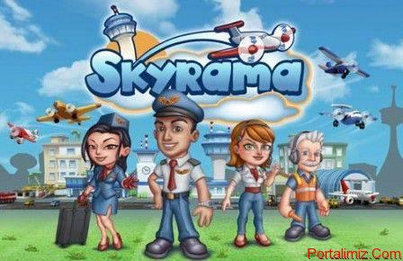 Skyrama Online Havaalanı Yöneticiliği Simülasyonu