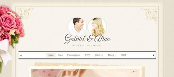 Vintage-Wedding-WordPress-Theme