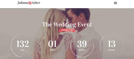 Düğün Temaları -WordPress-