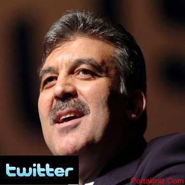 Abdullah Gül'de Artık Twitterda