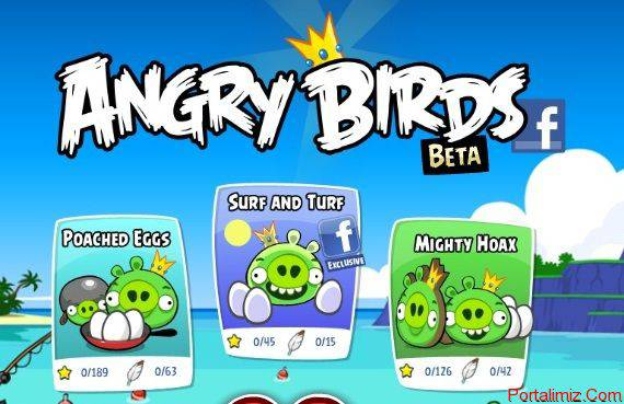 Facebook Angry Birds Oyunu