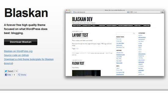 Blaskan WordPress Tema