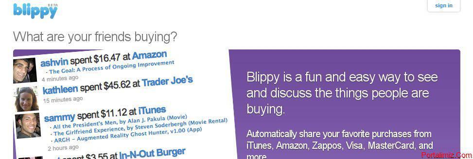 Blippy.Com İle Yeni Bir Heyecan