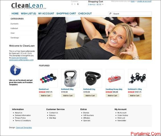 05_cleanlean_opencarttemplates