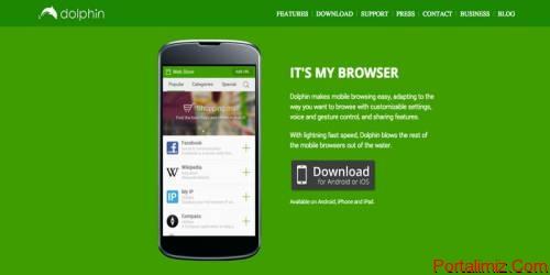 12 Android ve iOs İnternet Tarayıcı Uygulaması