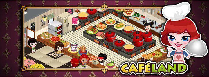 Facebook Cafeland Oyunu