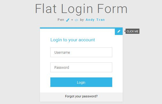 HTML5 ve CSS3 Giriş Formu