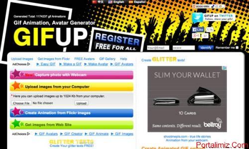 10 Ücretsiz Online Gif Yapabileceğiniz Site