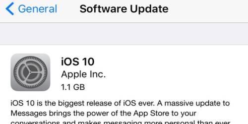 iOS 10 Problemleri Nasıl Çözülür?