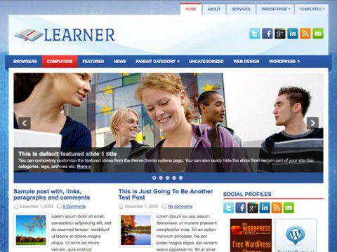 Learner WordPress Tema