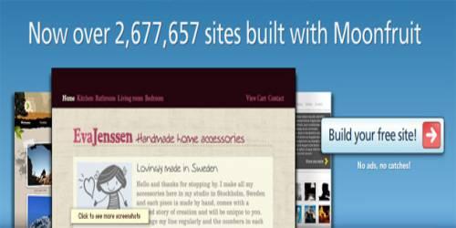 Moon Fruit Website Builder