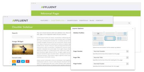 Panoramica WordPress Tema ekran görüntüsü