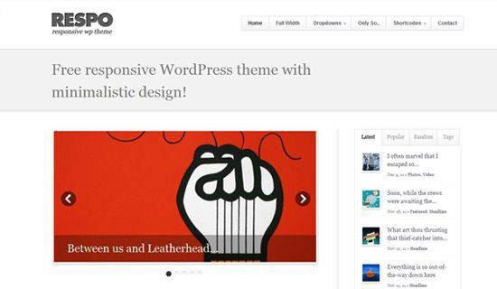 Respo WordPress Tema